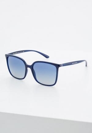 Очки солнцезащитные Dolce&Gabbana DG6112 30944L. Цвет: синий