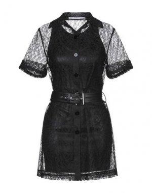 Короткое платье ALEXANDER WANG. Цвет: черный