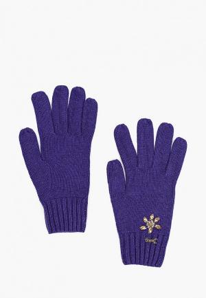 Перчатки Katomi. Цвет: фиолетовый