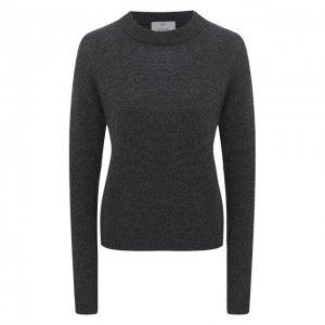 Пуловер из шерсти и кашемира Allude. Цвет: серый
