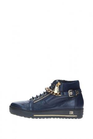 Ботинки Renzoni. Цвет: синий