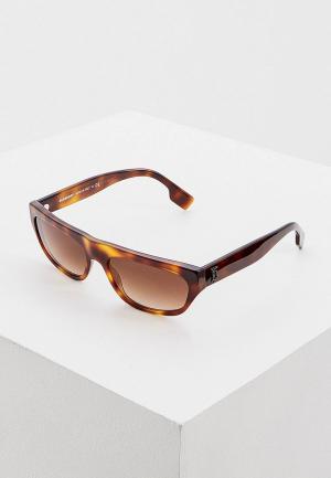 Очки солнцезащитные Burberry 0BE4301 331613. Цвет: коричневый