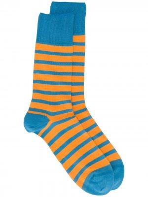 Носки Even Stripe Falke. Цвет: синий