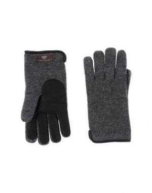 Перчатки UGG AUSTRALIA. Цвет: свинцово-серый