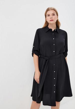 Платье Lauren Ralph Woman. Цвет: черный