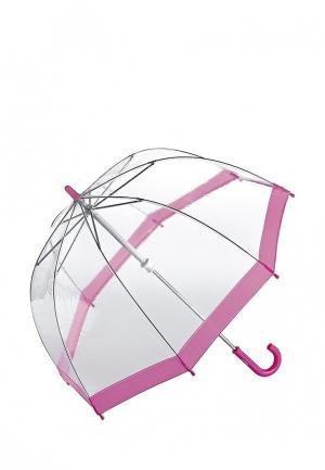 Зонт-трость Fulton. Цвет: прозрачный