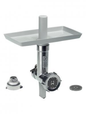 Мясорубка и адаптер Bosch MUZ8FA1 для кухонных комбайнов. Цвет: серый