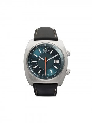 Наручные часы Startimer Pilot Heritage 42 мм Alpina. Цвет: blue