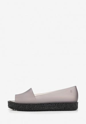 Резиновые ботинки Melissa. Цвет: серый