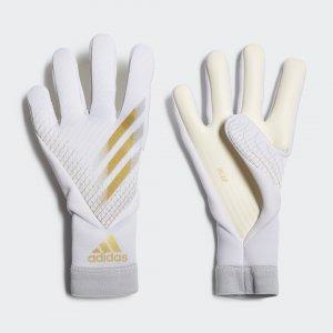 Вратарские перчатки X 20 Pro Junior Performance adidas. Цвет: белый