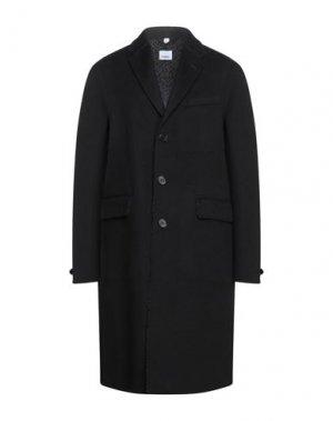 Пальто BURBERRY. Цвет: черный