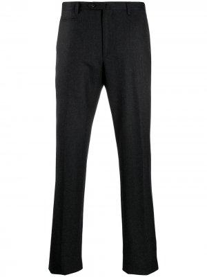 Классические брюки строгого кроя Corneliani. Цвет: серый