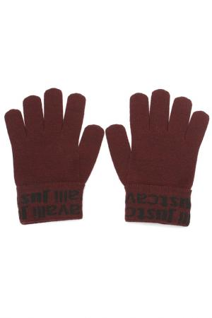 Перчатки Just Cavalli. Цвет: 472, бордовый