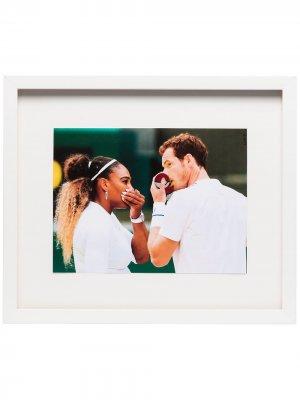 Постер Tennis (41 см x 34.5 см) в рамке Browns The Dan Life. Цвет: разноцветный