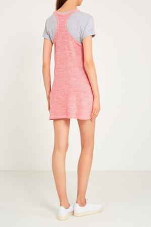 Розовое платье-майка Sport Angel. Цвет: розовый