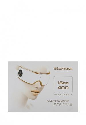 Массажер для глаз Gezatone ISee400 Deluxe. Цвет: белый