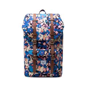 Рюкзак LITTLE AMERICA 25 л для ноутбука 15 HERSCHEL. Цвет: цветочный рисунок