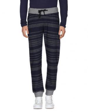 Повседневные брюки FRESHJIVE. Цвет: темно-синий