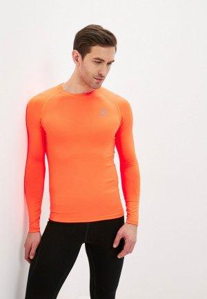 Термобелье верх Kelme Tech fit L/S (Thin). Цвет: оранжевый