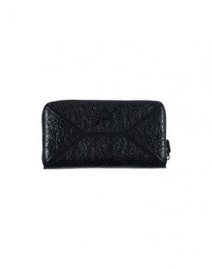 Бумажник GABS. Цвет: черный
