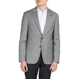 Пиджак TT0TT05488 серый TOMMY HILFIGER