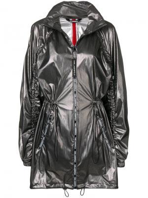 Анорак на молнии Karl Lagerfeld. Цвет: черный