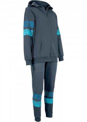 Спортивный костюм (2 изд.) bonprix. Цвет: синий