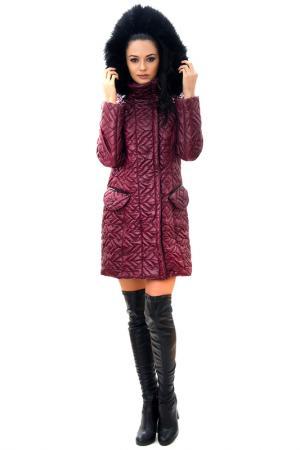 Пальто RADEKS. Цвет: vinous