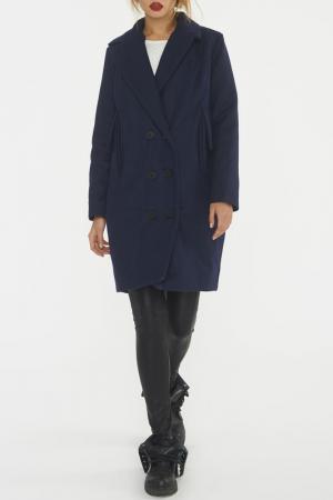 Пальто C.H.I.C.. Цвет: синий