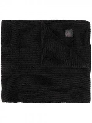 Фактурный шарф Canada Goose. Цвет: черный