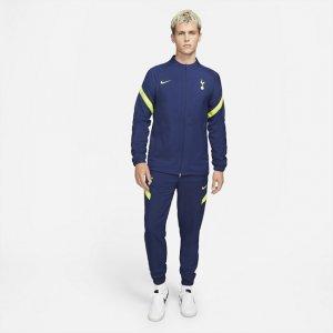 Мужской футбольный костюм Dri-FIT Tottenham Hotspur Strike - Синий Nike