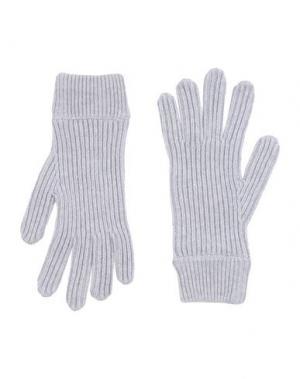 Перчатки MALO. Цвет: светло-серый