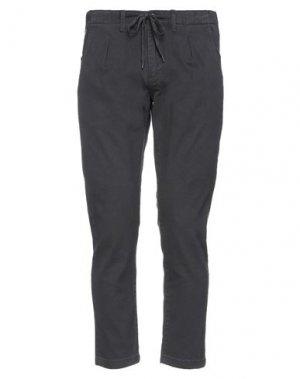 Повседневные брюки FRED MELLO. Цвет: свинцово-серый