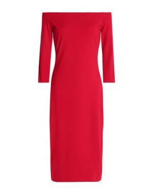 Платье до колена BAILEY 44. Цвет: красный