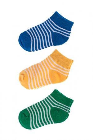 Носки, 3 шт 5.10.15.. Цвет: желтый