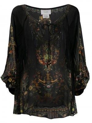 Блузка с рукавами реглан Camilla