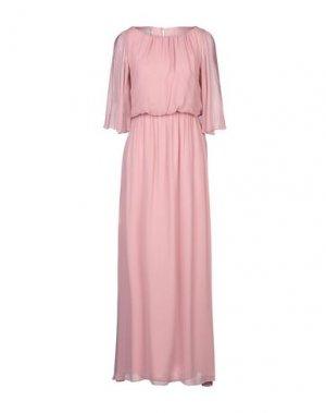 Длинное платье CARACTÈRE. Цвет: розовый