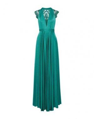 Длинное платье CATHERINE DEANE. Цвет: изумрудно-зеленый