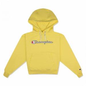Hooded Sweatshirt Champion. Цвет: желтый