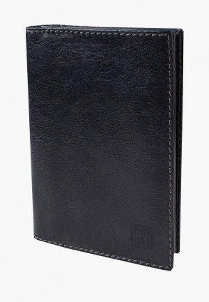 Обложка для документов Mumi. Цвет: черный