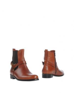 Полусапоги и высокие ботинки GABRIELE. Цвет: коричневый