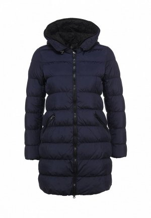 Пуховик Maison Scotch MA375EWCOZ66. Цвет: синий
