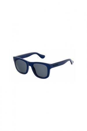 Солнцезащитные очки Havaianas. Цвет: синий