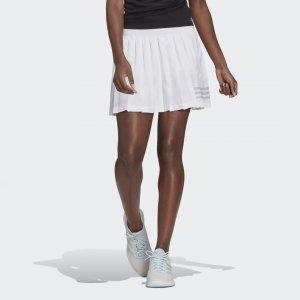 Юбка для тенниса Club Performance adidas. Цвет: белый