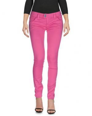 Джинсовые брюки CYCLE. Цвет: фуксия