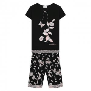 Пижама La Perla. Цвет: чёрный