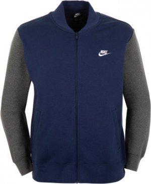 Джемпер утепленный мужской Club, размер 44-46 Nike. Цвет: синий