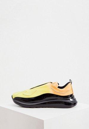 Кроссовки Barracuda. Цвет: желтый