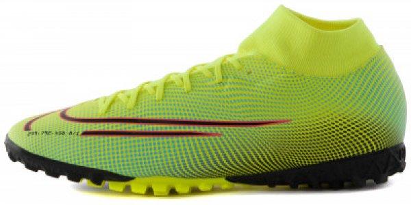 Бутсы мужские Mercurial Superfly 7 Academy MDS TF, размер 41 Nike. Цвет: желтый