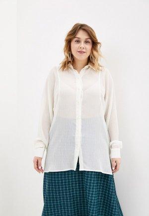 Блуза Kata Binska. Цвет: белый